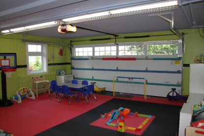Garage Transformation Creating A Safe Enjoyable Playroom