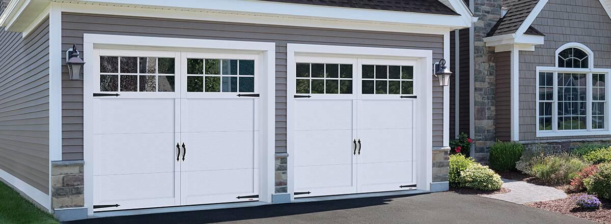 Elegant Princeton P 11, 9u0027 X 8u0027, Ice White Doors And Overlays
